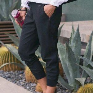 Calia Jogger Pant Trouser Black Zipper Pockets